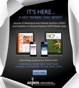 Have you seen the A.S.P.E.N. journals apps yet?