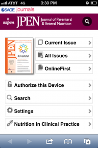 JPEN Main Page Mobile Screenshot