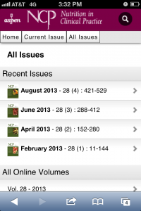 NCP All Issues Mobile Screenshot