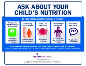 2015 Ask About Your Child's Nutrition
